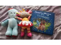 In the Night Garden Iggle Piggle, Upsy Daisy and book
