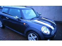 Black Mini Cooper for sale. Well maintained and generally in very good condition throughout.