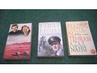 three books for sale