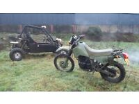 swap for quad 350 scrambler