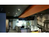 SUSPENDED DROP CEILING / COMMERCIAL CEILING SUPPLY AND FIT
