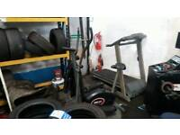 Treadmill and cross trainer by york