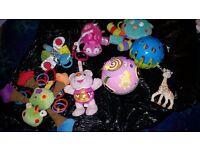 Mixed baby toys