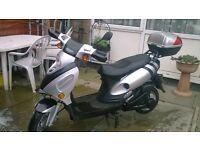 B M W 64v 2000w electric moped