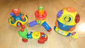 4 VTECH toys