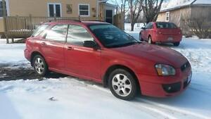 For Sale 2003 Subaru Impreza wagon, All Wheel Drive.