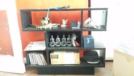 Beautiful shelving unit in very good condition : collection only. used for display of collectables