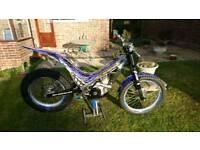2003 sherco 250cc 2 stroke trials bike excellent condition