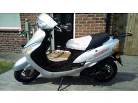 Direct Bikes 49cc Moped - Mot Till 11-05-19