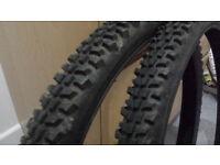 "26"" inch Mountain Bike Tyres, MTB, good condition. 26 x 2.1. Duro."
