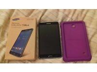 Samsung Galaxy Tab4. 7 inch. 8GB. Wifi. Inc shockproof case