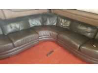 leather corner sofa for sale