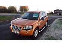 Land Rover Freelander 2 2.2Td4 2007,XS,Half Leather,Park Sensors,Cruise,F.S.H