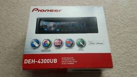 Pioneer DEH-4300UB Car Stereo Boxed Complete