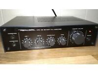 Realistic mpa 30 20 watt pa amplifier in very good working condition! can deliver or post!