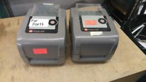 LOT OF 2 DATAMAX DMX E-CLASS THERMAL PRINTERS 4205 *FOR PARTS ONLY
