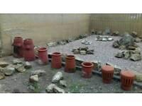 Chimney pots LOTS OF
