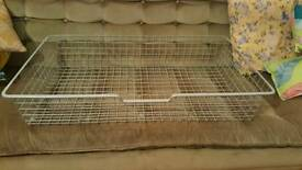 Komplement wire basket for ikea pax wardrobe