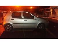 Silver/grey fiat punto active 1.2 5 door petrol manual
