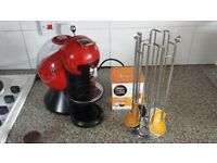 Krups Nescafe Dolce Gusto Coffee capsule pod machine (free accessories)