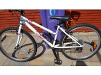 Btwin Rockrider 5.0 womens Mountain bike