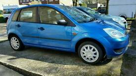 Ford fiesta in Metalic blue