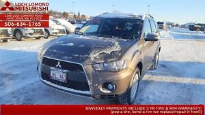 2011 Mitsubishi Outlander LS 4WD loaded 7 seater STILL under war