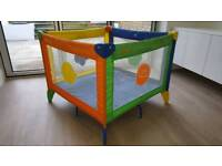 Graco playpen with carry case