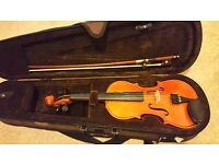Stentor Violin 1/4 size in mint condition
