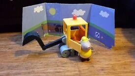 Peppa pig - Mr Bull's digger