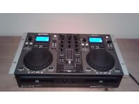 Gemini CDM-3610 twin dj deck and mixer console £100 ono