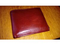 Brand new Fossil men's leather wallet