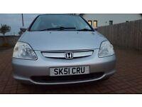 Honda Civic 1.6 Vtec SE Executive Automatic Petrol - MOT until 28/10/17 - No Advisories - £1000ono