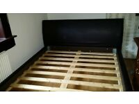 King Size Leather Bed Frame