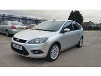 2010 Ford Focus zetec 1.6 tdci 5 door hatchback genuine low mileage