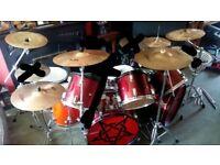 Double Bass Drum Kit (READ DESCRIPTION)