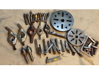 Lathe tools, J&S, Harrison, Myford, Colchester, job lot