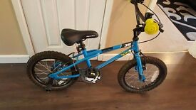 "Boys 16"" wheel Apollo bike in AS NEW condition as never used"