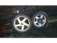Jinlin wheels with tyres