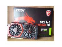 Geforce MSI GTX 960 2GB