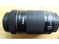 Canon Lense 55 to 250 with IS