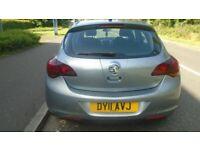 Vauxhall, ASTRA, Hatchback, 2011, Manual, 1398 (cc), 5 doors