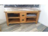 Tv cabinet - soild oak
