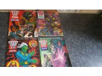 4 x 2000ad winter specials Inc issue 1