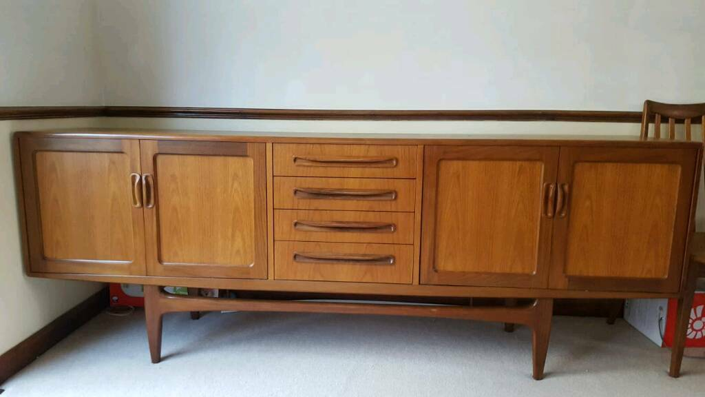 Retro G Plan Furniture House Full Dining Suite Sideboard Side Tables