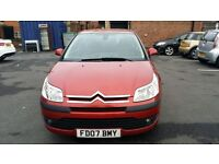 CITROEN C4 1.6 HDI 92 COOL 2007 LOW MILEAGE DIESEL FULL MOT GOOD CONDITION 1 OWNER FROM NEW BARGAIN