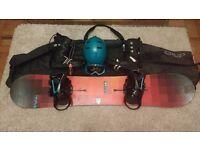 Burton Custom Flying V Snowboard Setup