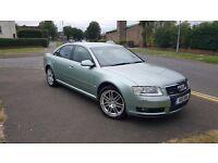 54/2004 Audi A8 3.0 TDI Quattro 4dr Saloon