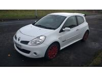 renault clio sport 197 2.0 petrol 6speed manual 2008 08 plate