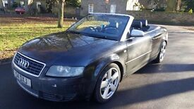 Quick Sale Audi A4 convertible